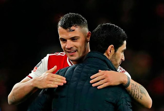 Mikel Arteta convince Granit Xhaka to stay at Arsenal