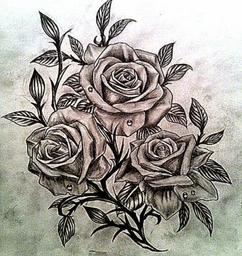 55 Best Rose Tattoos Designs – Best Tattoos for 2015  Pretty Designs