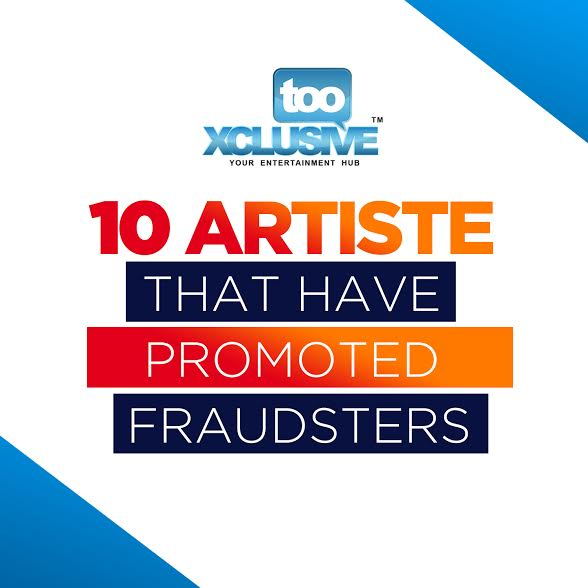 Top 10 Artistes That Have Promoted Fraudsters | Can Falz Win This War?