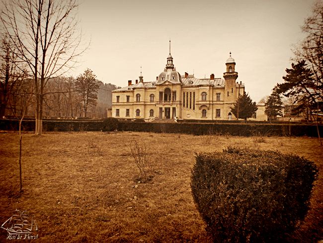 palatul ghika comanesti