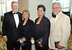 Doug White, Texas Health Harris Methodist Foundation president; Lyn Walsh; Beverly Branch; and Barclay Berdan, Texas Health Resources executive vice president