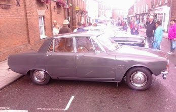 Photo: European Car of the Year,  beating Mercedes out in '64, this 66 Rover 2000  looking immaculate.  http://en.wikipedia.org/wiki/European_Car_of_the_Year