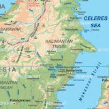 Kalimantan Timur en Indonésie (Île de Bornéo)