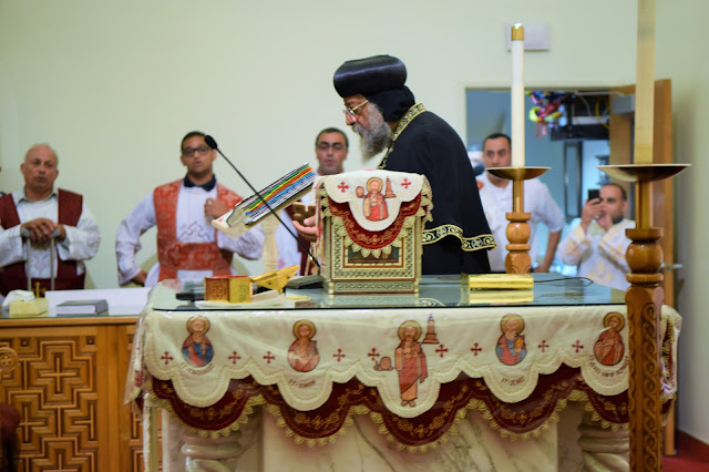 His Holiness Pope Tawadros II visit to St. Mark LA - DSC_0222.JPG