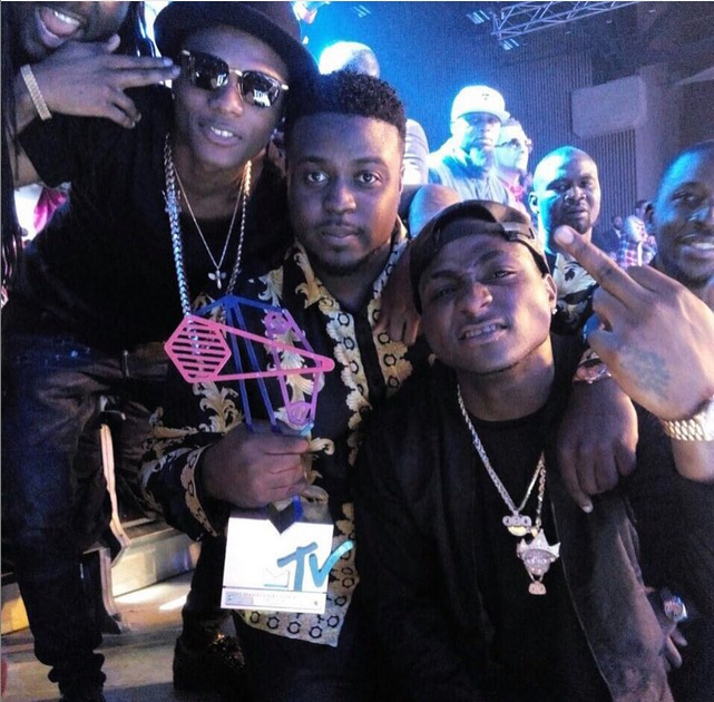 CR7 Best Ever: Wizkid Prays For Davido After Winning