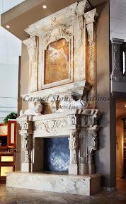 Fireplaces, Interior, Overmantels, Showroom