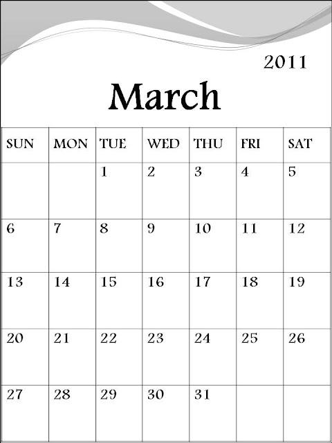 2011 march calendar printable. Blank+march+calendar+2011+