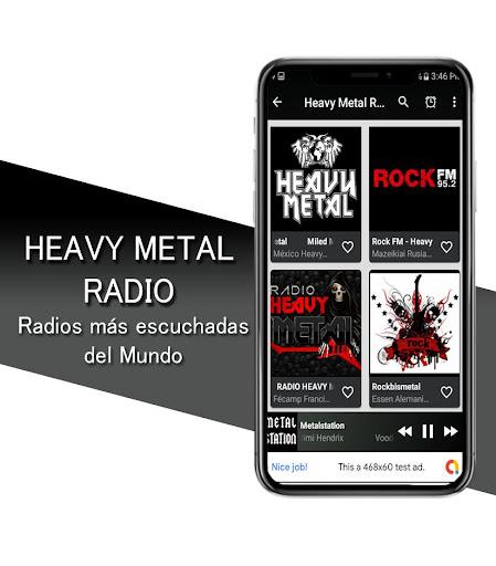 Heavy Metal Radio - Heavy Metal and Rock Radio screenshots 1
