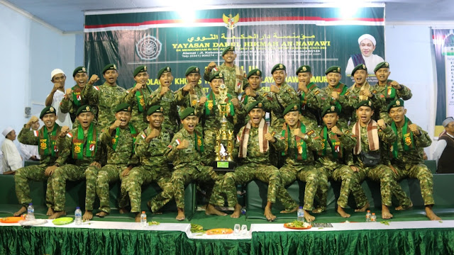 Tim Yonif Raider 514 Kostrad Raih Juara I Lomba Festival Selawat