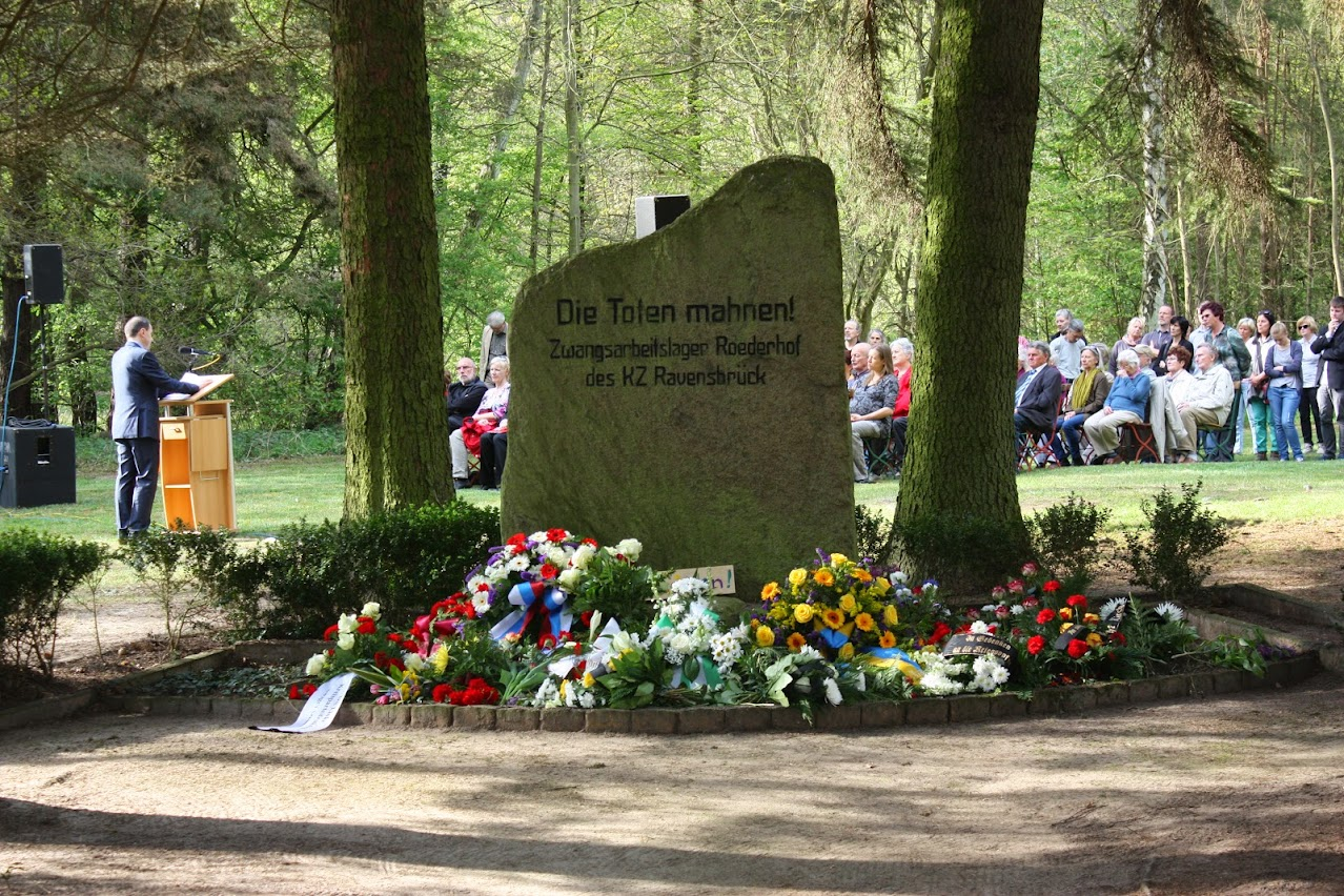 Gruener Grund Gedenkfeier 4. Mai 2015