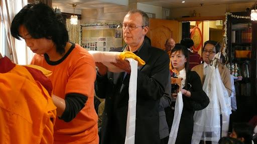 Long life puja in Hong Kong 2008.