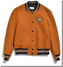 55072 Suede T-Rex Varsity Jacket - RUS