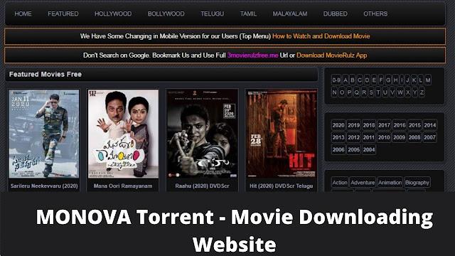 Monova Illegal Torrent Search 2021