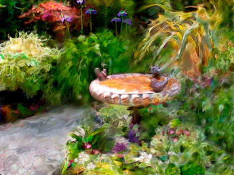 """The """"Birdbath"""" piece from the """"2002"""" collection"""