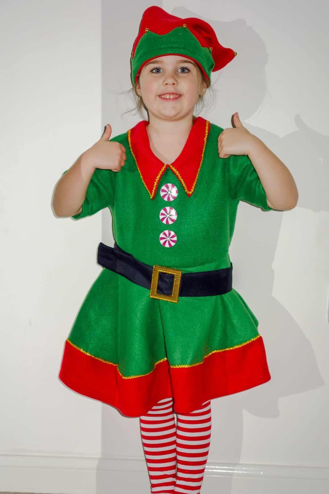 Elf in the nativity