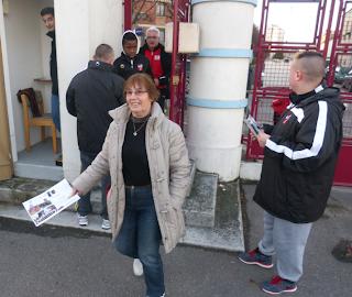 Jour de Match CFA 01/02/2014