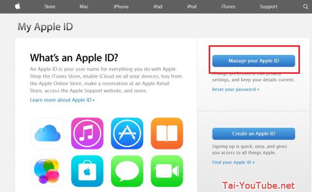 Hình 2 - Hướng dẫn cách đổi mật khẩu iCloud trên Apple ID