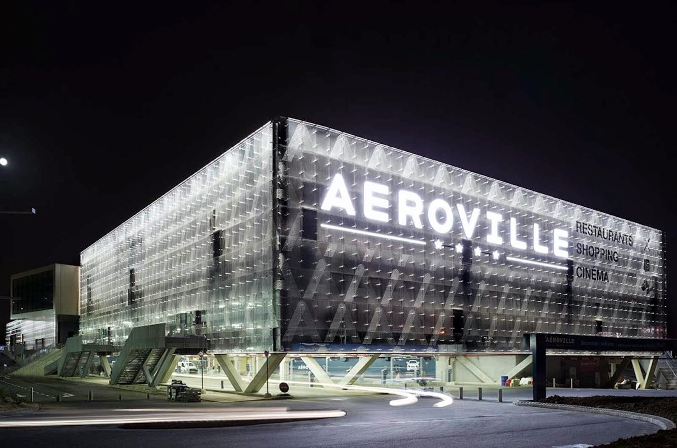 Aeroporto di Parigi Charles de Gaulle (CDG), 93290 Tremblay-en-France, Francia: Aeroville by Pca Philippe Chiambaretta Architecte