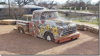Mosaic Chevy Pickup