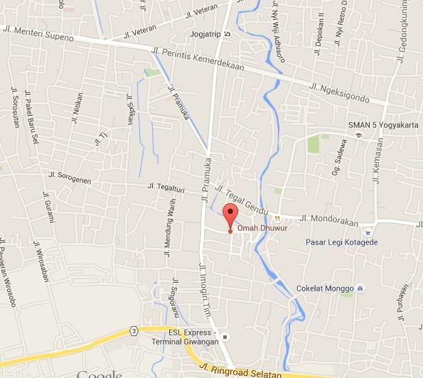 Lokasi Pondokan Putra Termurah di Jogja