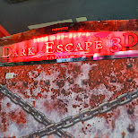 Dark Escape 3D - quite possibly the best arcade game I have played to date in Shibuya, Tokyo, Japan
