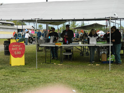 The 4-H makes and sells apple butter -- a tradition dating back many years!