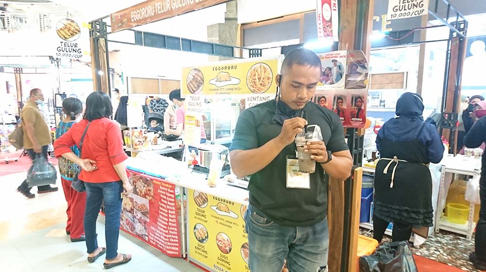 Produktif saat Pandemik, Selalu Berkah Management Gelar Acara di Mall SKA Pekanbaru