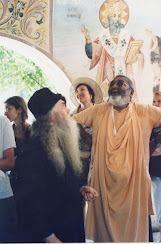 With a monk in Bulgaria 2007