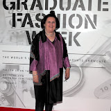WWW.ENTSIMAGES.COM -   Suzy Menkes    at         Graduate Fashion Week 2013 at Earls Court Two, Old Brompton Road, London, June 5th                                               Photo Mobis Photos/OIC 0203 174 1069