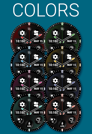 Spin Watch Face (by HuskyDEV) 1.03 screenshots 1