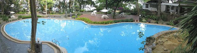 Just one of the 3 swimming pools available for use by home owners