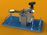 """Parmatech's Counterbore Precision Measurement Machine - Requiring accuracy to .0005"""" and repeatability to .0002"""", this measurement machine was a challenge.   Anticipated to receive heavy use by technicians during quality inspections of MIM parts (Metal Injection Molded), durability was key.  Capture succeeded in bringing the required precision together with rugged durability."""
