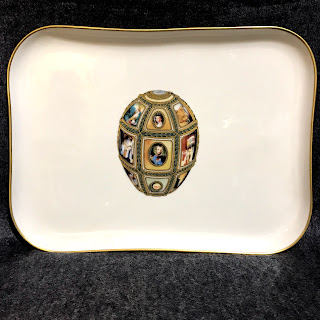 Fabergé Imperial Fifteenth Anniversary Egg Platter