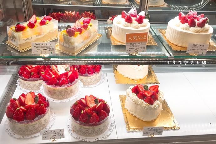 4 新宿高野 TAKANO 東京池袋西武百貨 水果蛋糕 草莓蛋糕