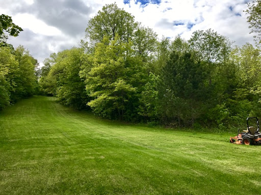 Mowing on Suicide Hill May 24th, 2017