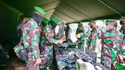 Tim Mabesad : Yonif 642/Kps Siap Jaga Perbatasan RI-Malaysia