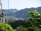 城山湖へ向かう道の途中で津久井湖が見える@@@512@@@385