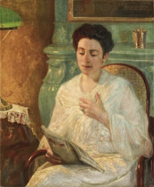 Leonid Pasternak - Portrait of a woman