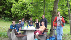 Climbing crew from Heidelberg