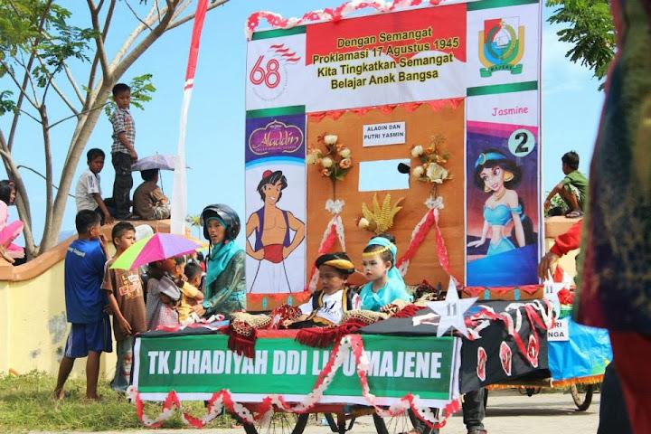 karnaval anak majene 2013 tema aladin