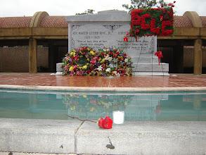 Photo: Gravesite of Dr. Martin Luther King, Jr., Atlanta, GA