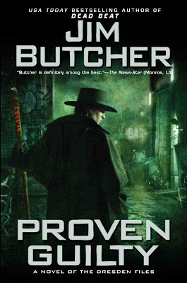 Book Summary: Proven Guilty (Dresden Files, Book 8), By Jim Butcher cover art