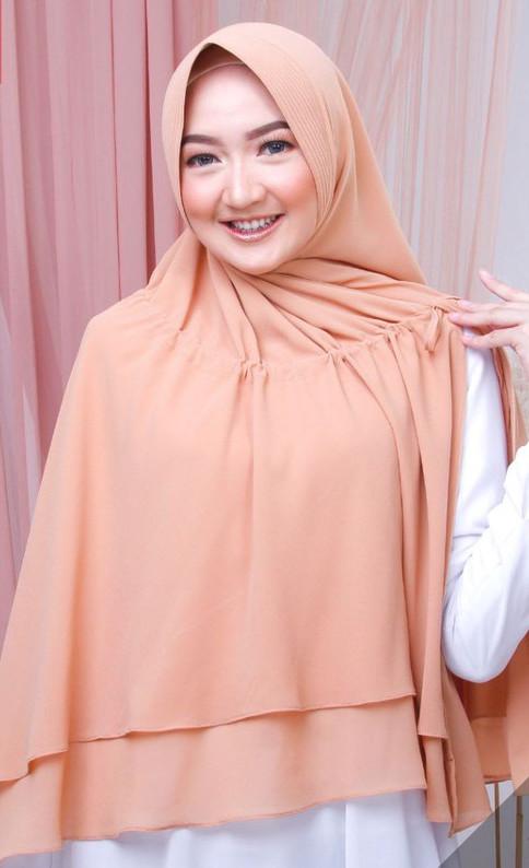 Hijab Instan Khimar Belah