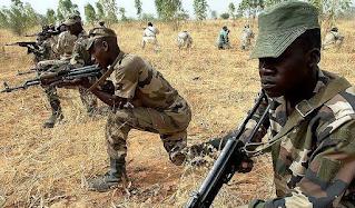 Bandit attacks NDA, killed scores and adopt a major