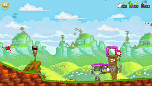 Angry Birds ra mắt phiên bản Red's Mighty Feathers 11