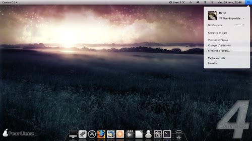 Pear Linux Comice OS 4