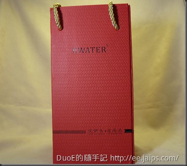 EWATER可拆式玻璃內膽保溫杯-包裝盒外觀