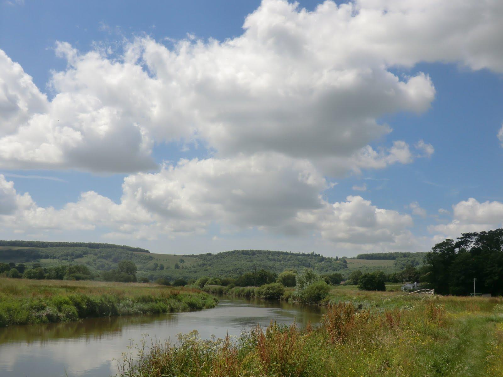 CIMG8815 River Arun at Houghton Bridge