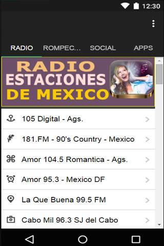 Estaciones de Radio de Mexico