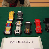 Pinewood Derby 2009